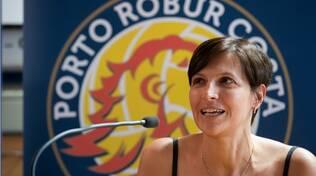 Il presidente del nuovo Porto Robur Consar 2030 Daniela Giovanetti