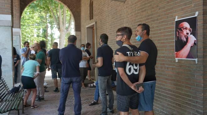 L'ultimo saluto a Giuseppe Titta Tittarelli - il funerale