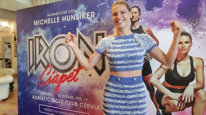 Michelle Hunziker a Cervia