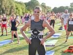 Michelle Hunziker a Cervia con Iron Chapet