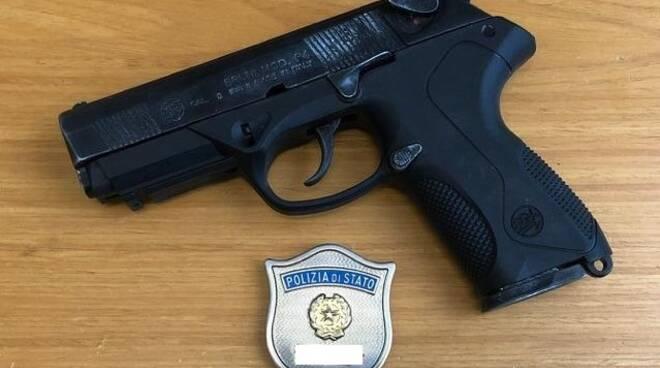 Pistola ritrovata a Forlì