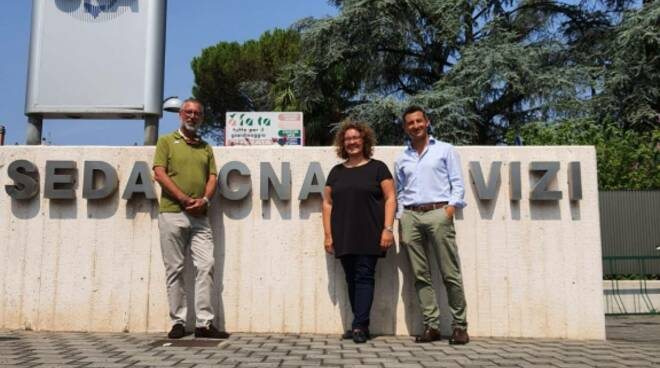 rontini visita CNA Lugo