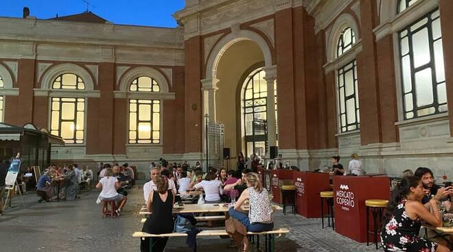 sabato sera ravenna centro storico note di sapore mercato coperto
