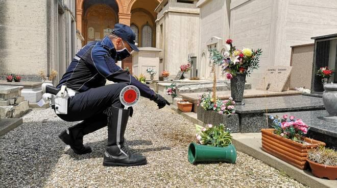tentato furto cimitero Lugo