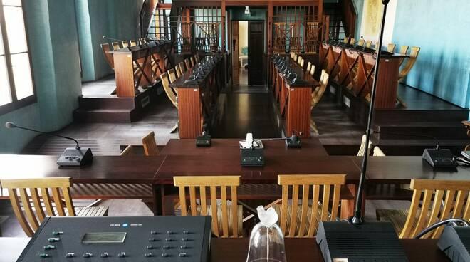 sala consiglio comunale Rocca Lugo - unione dei comuni