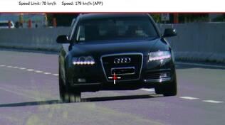 Auto multata sulla Superstrada di San Marino