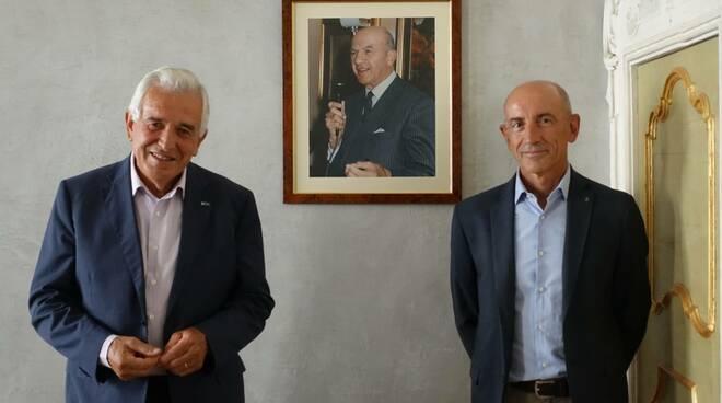 Faenza. Presidente Ricci e Ceroni