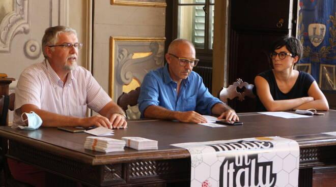 Da sinistra Giovanni Malpezzi, Sergio Scipi e Paola Casta