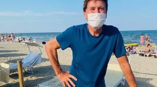 Gianni Morandi a Marina Romea