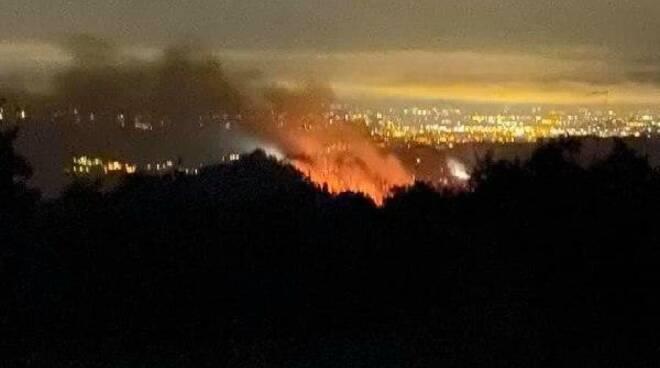 incendio Casola Valsenio
