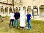 """""""L'Anima di Dante"""" resta a Ravenna: l'artista dona la scultura alla FondazioneCasa diOriani"""