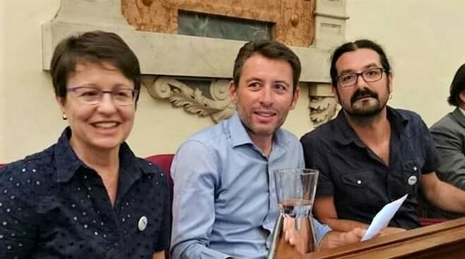 M5S Faenza, i tre consiglieri comunali uscenti  Marilena Mengozzi, Massimo Bosi,  Andrea Palli