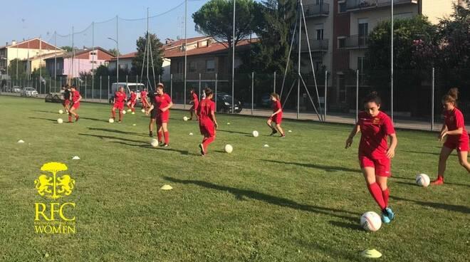 Ravenna Women FC: si conclude con successo il Women's Free Camp