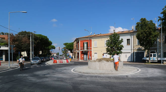 Rotatoria-via Montefeltro