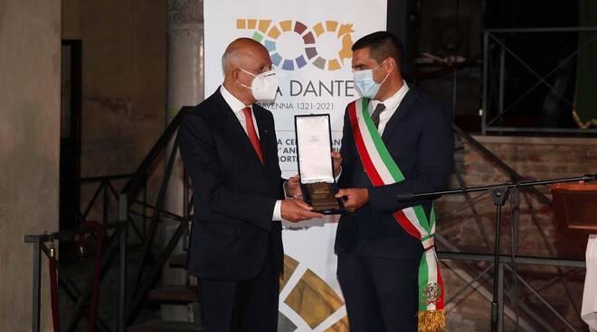 assegnato il Lauro Dantesco a Antonio Patuelli e Benedetto Croce
