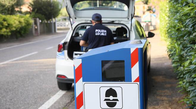 Bagnacavallo: nuovi autovelox a rotazione nei box del territorio comunale