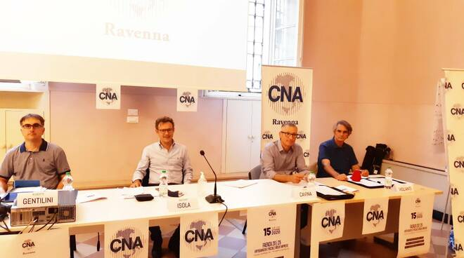 candidati sindaco Faenza- confronto organizzato da CNA