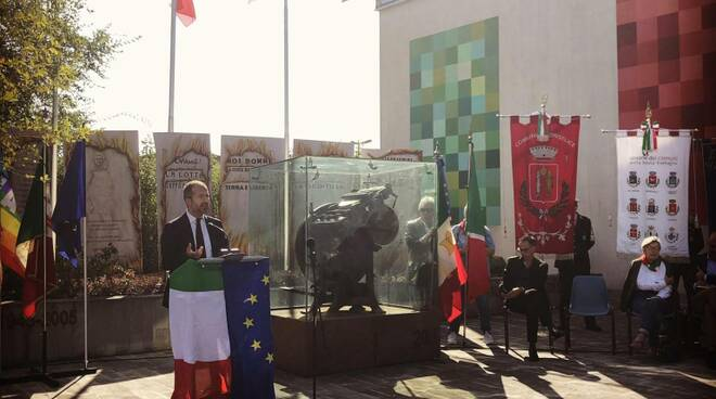 conselice - Monumento alla Libertà di stampa 2019