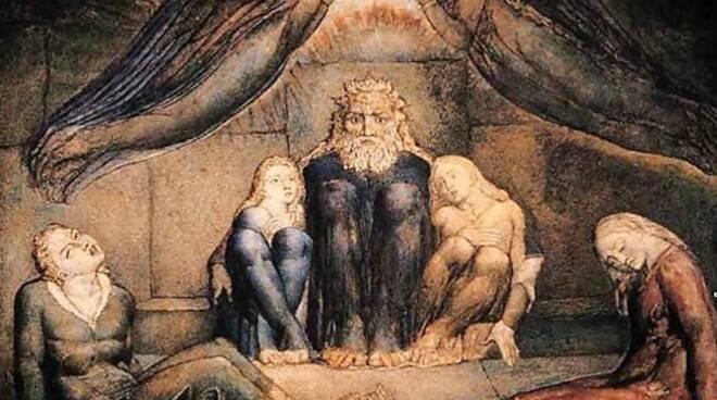 Dante by Blake