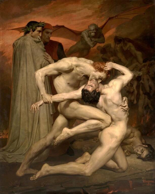 Dante by Bouguereau
