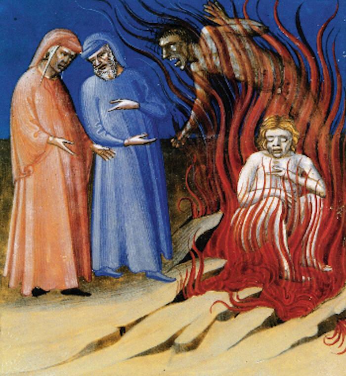 Dante e Guido da Montefeltro