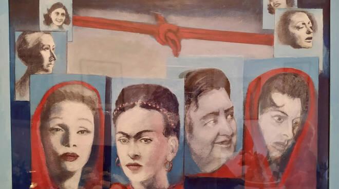 """i """"Ri-tratti pittorici e fotografici"""" di Giovanni Cassani e Rosetta Berardi"""