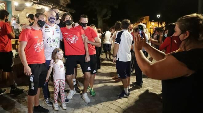 Incontro Orasì con i tifosi
