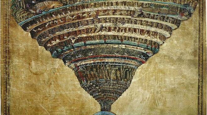 Inferno by Sandro Botticelli