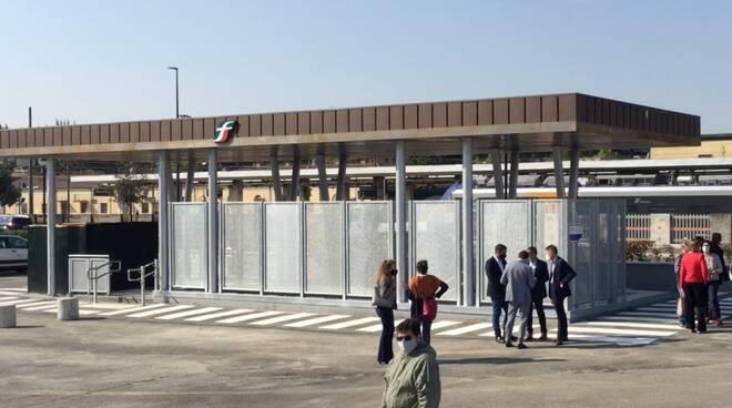 ingresso sottopassaggio ferroviario - Stazione-Darsena