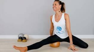lezione di Pilates con la coach Eva Imbrunito
