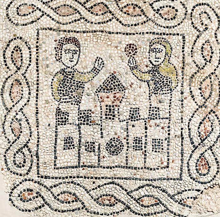 Mosaico San Giovanni Evangelista