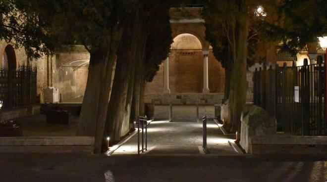 nuove luci su tomba dante e zona silenzio