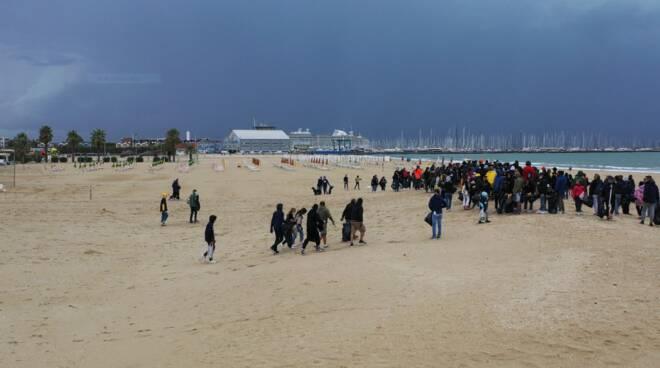 Plastic Free 2020 - Raccolta plastica in spiaggia a Marina di Ravenna - 27 settembre 2020