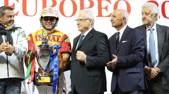 Premiazione Campionato Europeo 2019