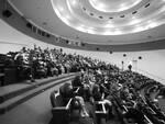 pubblico in sala, mascherine , covid soundscreen film fest 2020