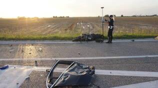 scontro a San Bernardino di Lugo: muore centauro