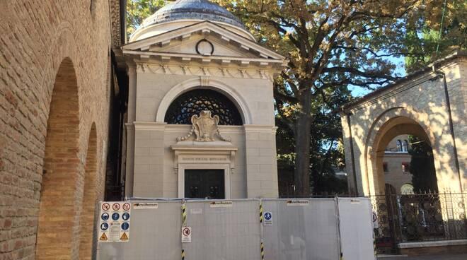 tomba di dante - restauro 2020