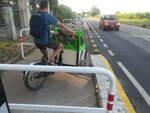 barriere pista ciclabile ciclopedonale