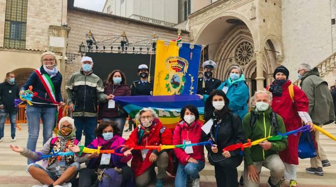 catena umana - marcia della pace - perugia assisi 2020 - Delegazione Cervia