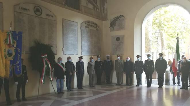 cervia - commemorazione liberazione 22 ottobre 20202