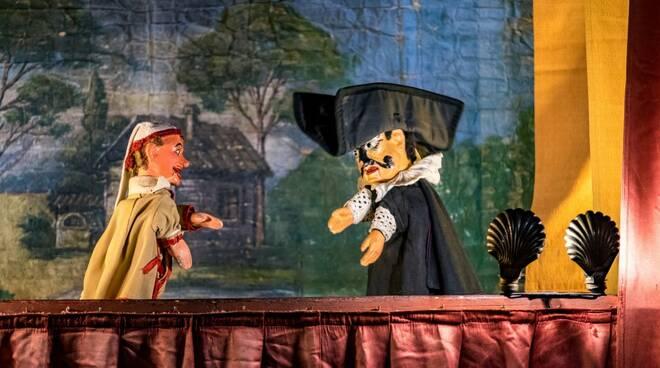 il rapimento del principe carlo burattini teatro del drago