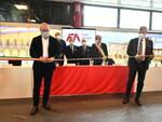 Inaugura l'Aeroporto di Forlì: la Ministra De Micheli, Bonaccini e Quaranta hanno 'battezzato' il Ridolfi