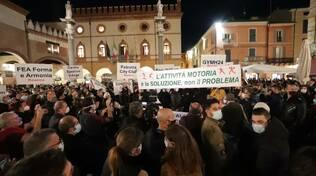 Manifestazione palestre