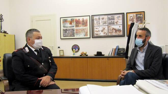 maresciallo maggiore Gianluca Lasconi - comandante  Carabinieri Cotignola