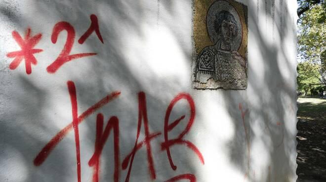 parco della pace - restauro mosaici ottobre 2020