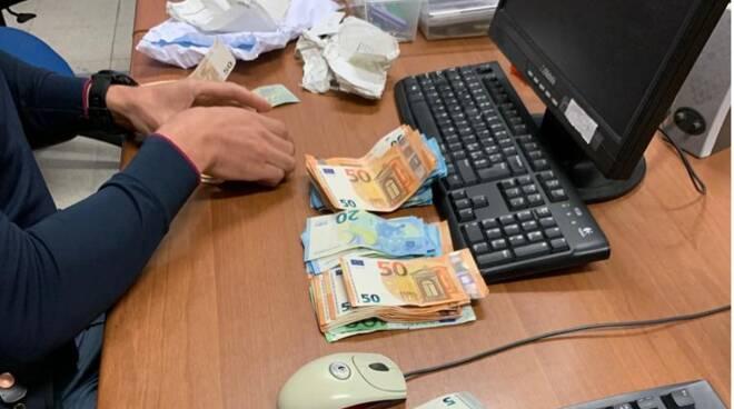 Polizia di Stato di Forlì-sequestro denaro