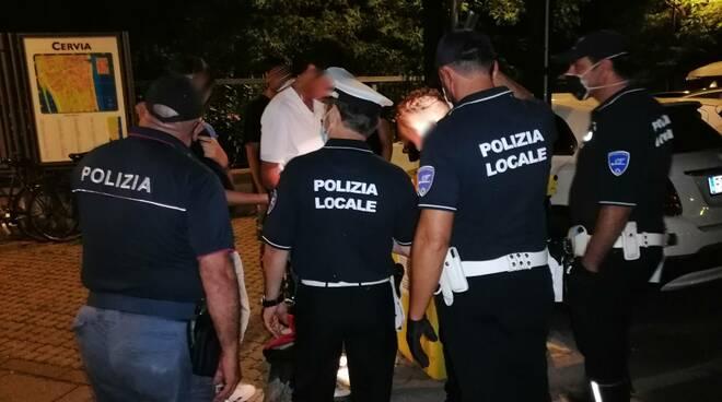 polizia locale CERVIA - estate 2020