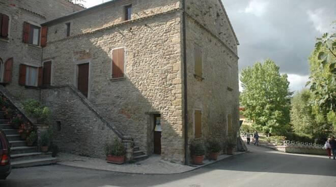 Predappio-Casa natale di Benito Mussolini