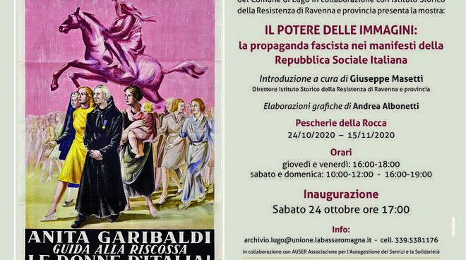 propaganda fascista - mostra Lugo