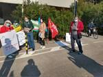 protesta lavoratori multiservizi